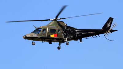 H-24 - Agusta A109BA - Belgium - Air Force