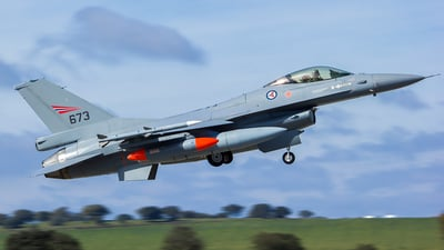 673 - Lockheed Martin F-16D Fighting Falcon - Norway - Air Force