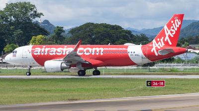 HS-BBL - Airbus A320-216 - Thai AirAsia