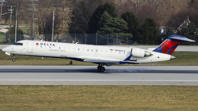A picture of N340CA - Mitsubishi CRJ701ER - Delta Air Lines - © Nick Neiger