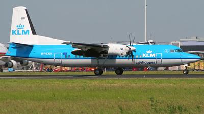 PH-KXH - Fokker 50 - KLM Cityhopper