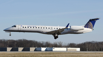 A picture of N14143 - Embraer ERJ145XR - United Airlines - © DJ Reed - OPShots Photo Team