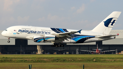 9M-MNF - Airbus A380-841 - Malaysia Airlines