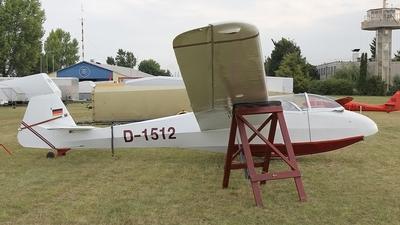 D-1512 - Scheibe Bergfalke II/55 - Private