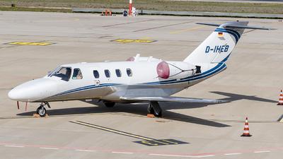A picture of DIHEB - Cessna 525 CitationJet CJ1 - Silver Cloud Air - © Denny Lillo - Plane Spotters Bari