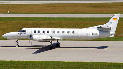A picture of ECGPS - Swearingen SA227AC Metro III - Flightline - © Hugo Schwarzer