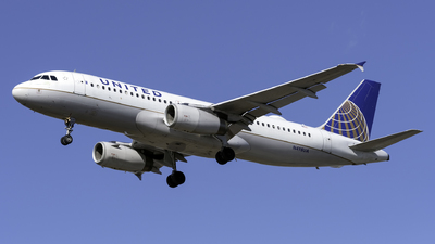 A picture of N498UA - Airbus A320232 - United Airlines - © Kerrigan_Aviation_NJ
