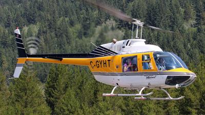 A picture of CGYHT - Bell 206B JetRanger III - [4104] - © Willy Dahmen