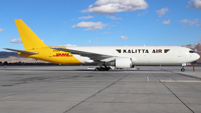 A picture of N762CK - Boeing 7673P6(ER)(BDSF) - DHL - © Nate Morin