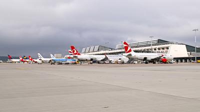 EDDS - Airport - Ramp