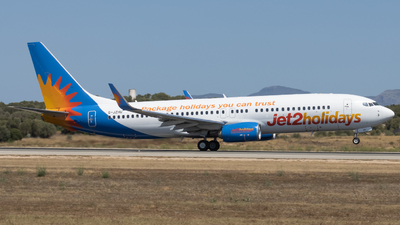 A picture of GJZHU - Boeing 7378MG - Jet2 - © Alewx