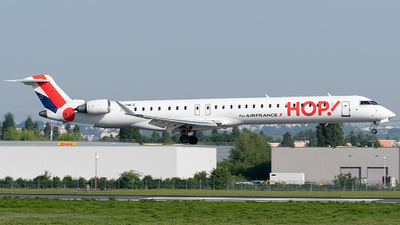 F-HMLE - Bombardier CRJ-1000 - HOP! for Air France