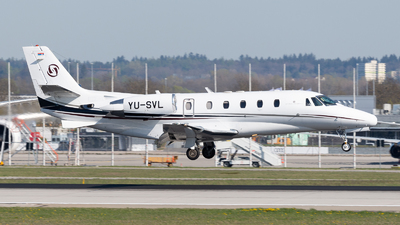 YU-SVL - Cessna 560XL Citation XLS - Prince Aviation
