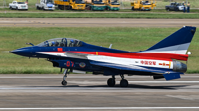 07 - Chengdu J10S - China - Air Force