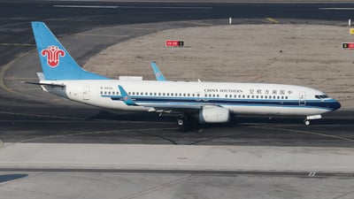 A picture of B5836 - Boeing 73781B - China Southern Airlines - © Egg manager