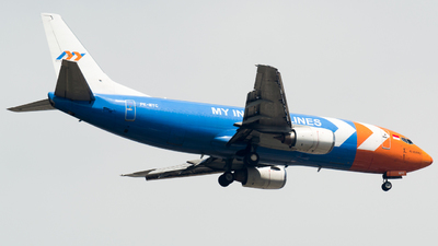 A picture of PKMYC - Boeing 73739K(SF) - My Indo Airlines - © aideenkhan13