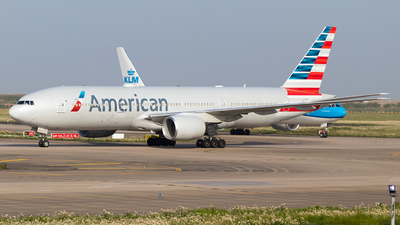 A picture of N760AN - Boeing 777223(ER) - American Airlines - © AviaNK