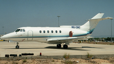9Q-CBC - Hawker Siddeley HS-125-400A - Private
