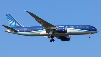 A picture of VPBBR - Boeing 7878 Dreamliner - Azerbaijan Airlines - © Justin Stöckel