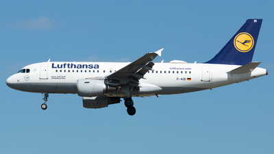 D-AIBI - Airbus A319-112 - Lufthansa
