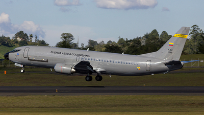 FAC1209 - Boeing 737-46B(C)  - Colombia - Air Force