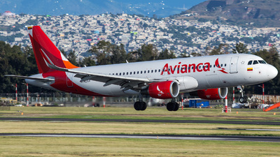 A picture of N742AV - Airbus A320214 - Avianca - © victor Ambriz