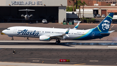 A picture of N267AK - Boeing 737990(ER) - Alaska Airlines - © Saul Hannibal