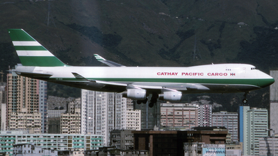 VR-HUH - Boeing 747-467F(SCD) - Cathay Pacific Cargo