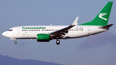 EZ-A006 - Boeing 737-7GL - Turkmenistan Airlines