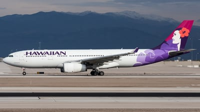 N390HA - Airbus A330-243 - Hawaiian Airlines