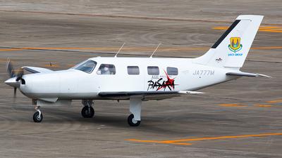 JA777M - Piper PA-46-350P Malibu Mirage - Private