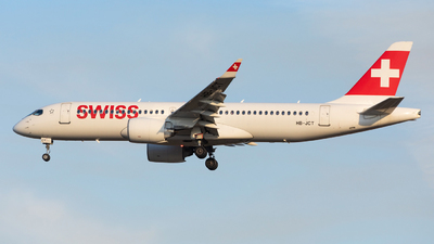 A picture of HBJCT - Airbus A220300 - Swiss - © Oleksandr Smerychansky