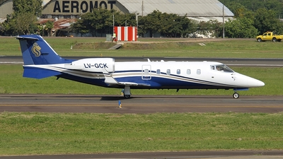 LV-GCK - Bombardier Learjet 60 - Private