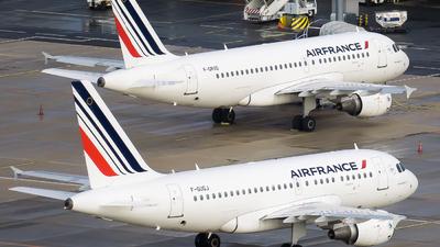F-GUGJ - Airbus A318-111 - Air France
