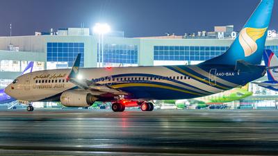 A4O-BAA - Boeing 737-81M - Oman Air