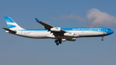 LV-CSE - Airbus A340-313X - Aerolíneas Argentinas