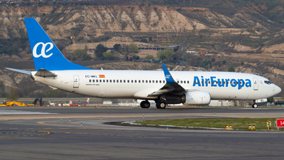 A picture of ECMKL - Boeing 73785P - Air Europa - © Mateo León