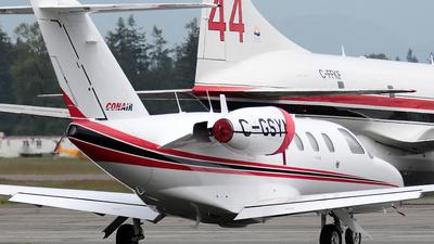 A picture of CGSYM - Cessna 525 CitationJet CJ1 - Conair - © Wojtek Kmiecik