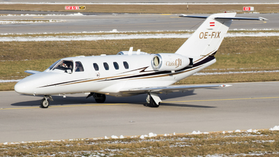 OE-FIX - Cessna 525 CitationJet 1 - Private