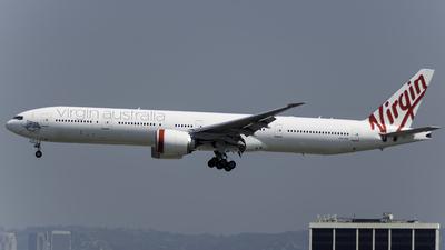 VH-VOZ - Boeing 777-3ZGER - Virgin Australia Airlines