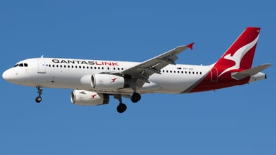 VH-JQG - Airbus A320-232 - QantasLink (Network Aviation)