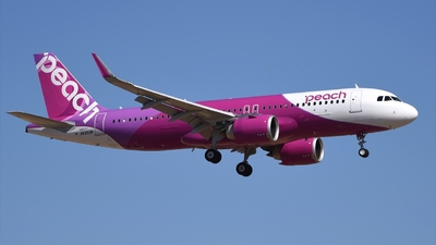 JA203P - Airbus A320-251N - Peach Aviation