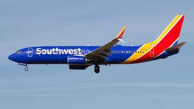 A picture of N8303R - Boeing 7378H4 - Southwest Airlines - © Jeremy D. Dando