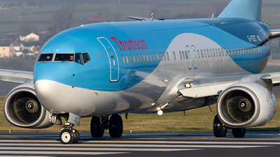 G-FDZT - Boeing 737-8K5 - Thomson Airways
