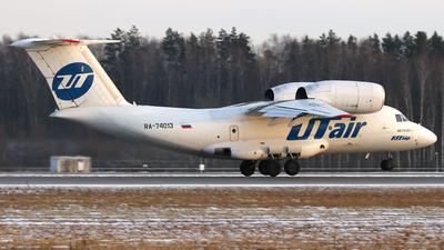 A picture of RA74013 - Antonov An74200 - UTair Cargo - © SeniorNN