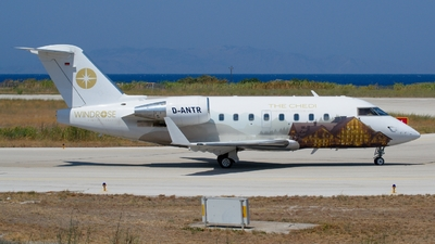 D-ANTR - Bombardier CL-600-2B16 Challenger 604 - MHS Aviation