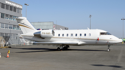 P4-AAG - Bombardier CL-600-2B16 Challenger 605 - Private