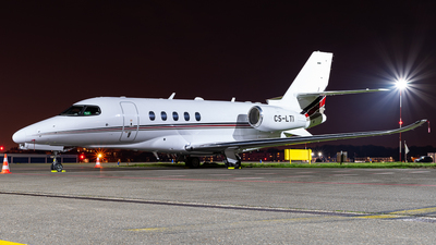 A picture of CSLTI - Cessna 680A Citation Latitude - NetJets - © J.Evrard-AirTeamImages