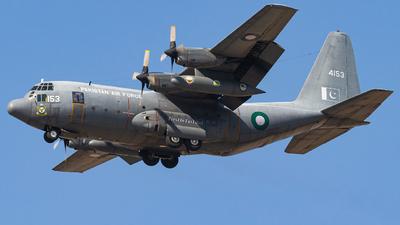 4153 - Lockheed C-130E Hercules - Pakistan - Air Force