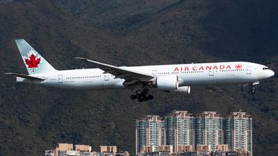 A picture of CFNNU - Boeing 777333(ER) - Air Canada - © Nestor Hung